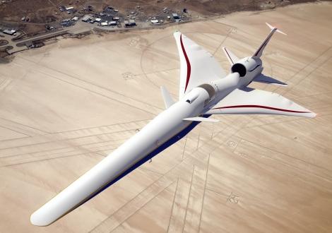 NASA X-59 süpersonik uçak kokpiti değişiyor