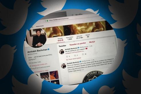 Türk hacker grubu Bollywood yıldızını hackledi!