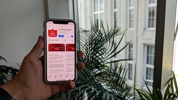 Resmi Gazete mobil uygulaması kullanıma açıldı
