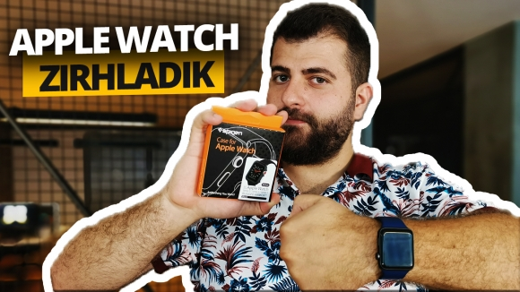 Apple Watch'u Spigen ile zırhladık! (Video)