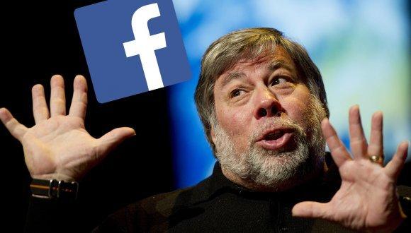 Steve Wozniak'tan Facebook'u silin çağrısı
