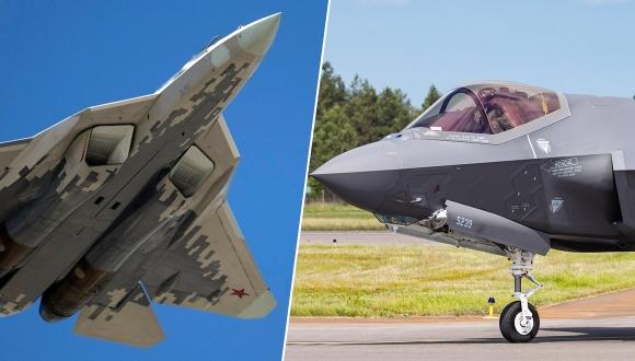 SU-57 ve F-35 karşılaştırması! Hangisi daha iyi?