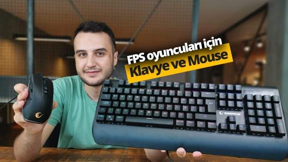Rampage Orion klavye ve Flare mouse inceleme