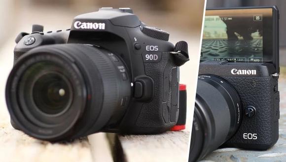 Canon EOS 90D DSLR ve M6 Mark II tanıtıldı