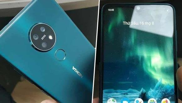 Nokia 7.2 çalışırken görüntülendi!