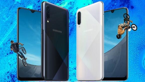 Galaxy A30s tanıtıldı! Parmak izi okuyucu değişti
