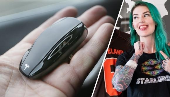 Tesla sahibi ameliyat ile anahtarı koluna yerleştirdi!