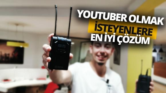 YouTube'a ilk adım – Boya WM8 inceleme!