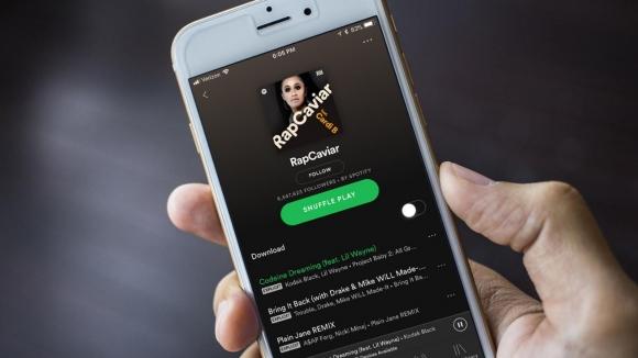 Snapchat için geç kalmış Spotify özelliği müjdesi