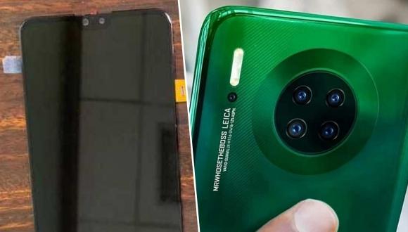 Huawei Mate 30 ekran çentiği ile üzebilir!