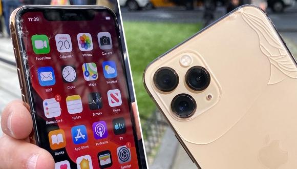 iPhone 11 Pro düşme testinde!