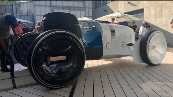Vision Mercedes Simplex konsept aracı tanıtıldı