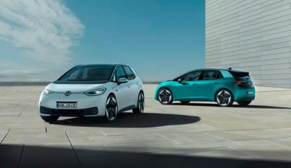 Volkswagen Golf'e göz kırpan VW ID.3!