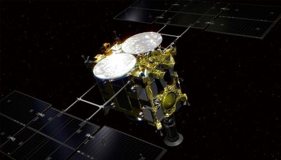 Hayabusa2 uzay aracı son robotunu bıraktı