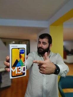 Samsung Galaxy M30s kutusundan çıkıyor!