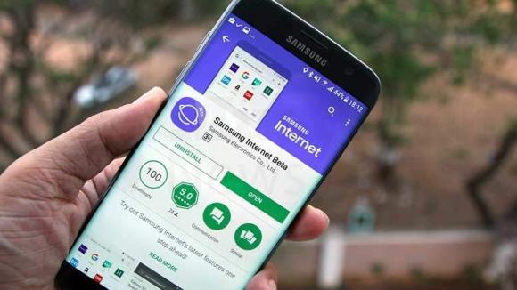 Samsung Internet için önemli güncelleme