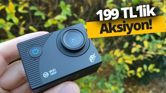 199 TL'ye aksiyon kamerası alırsanız ne olur?