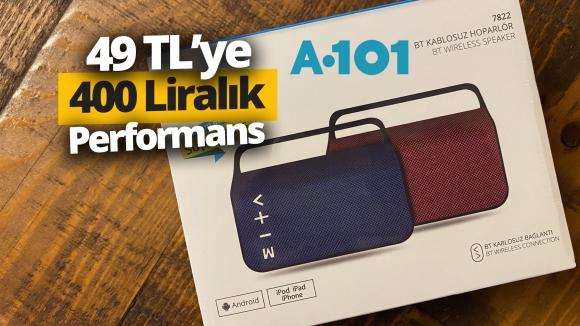 A101'den 49 TL'ye hoparlör almak! (Video)