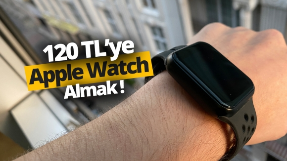 Apple Watch çakması Model F8 saat inceleme