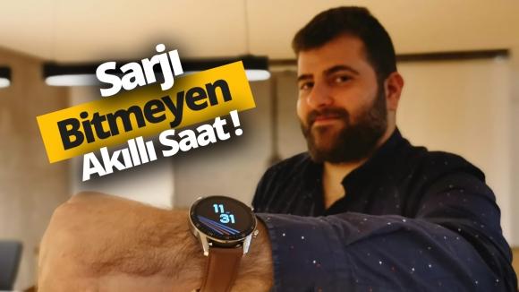 Şarjı bitmeyen saat Huawei Watch GT 2 inceleme