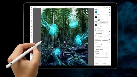 iPad için Adobe Photoshop Apple Store'a geldi