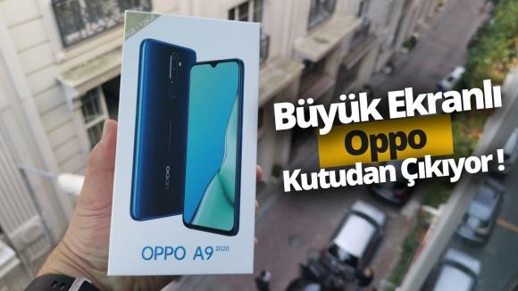 Oppo A9 2020 kutudan çıkıyor