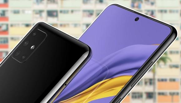 Samsung Galaxy A51 tasarımı ile karşımızda