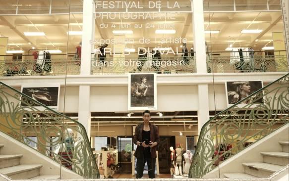 Ares Duval exposition photo de la ville de Dax aux Galeries Lafayette
