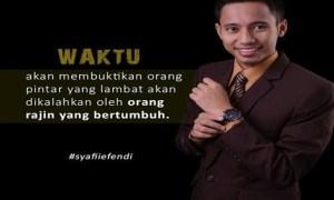 4 Cara Sukses dari Motivator Syafii Efendi