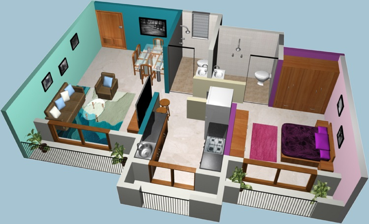 Tips to Give Spacious Look to Your 1BHK Home