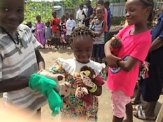 Maggie's toys find a home in Shieldra School