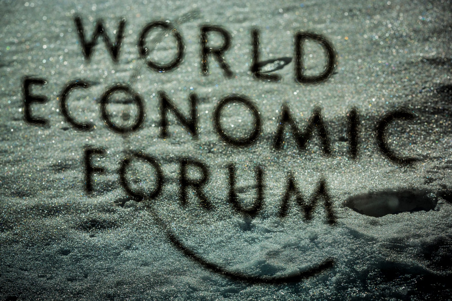 The Logo of the World Economic Forum the Annual Meeting 2019 of the World Economic Forum in Davos, January 25, 2019 Copyright by World Economic Forum / Benedikt von Loebell