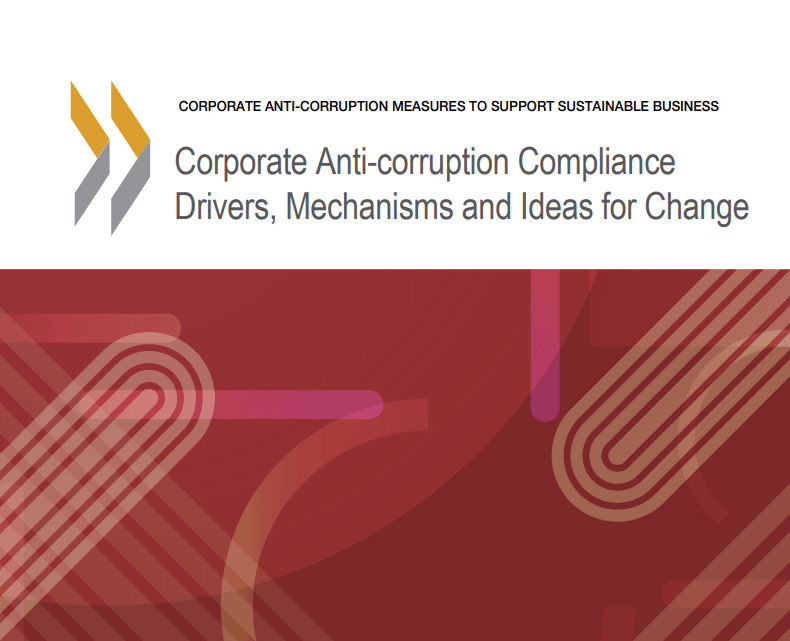 2020 OECD Corp Anti-Corruption Compliance Report Cover