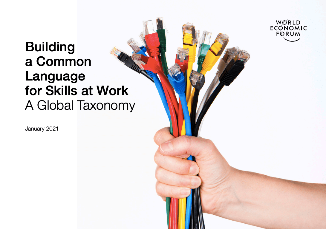 WEF Building a Common Language for Skills at Work A Global Taxonomy Cover