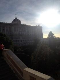 Back of Palacio Real