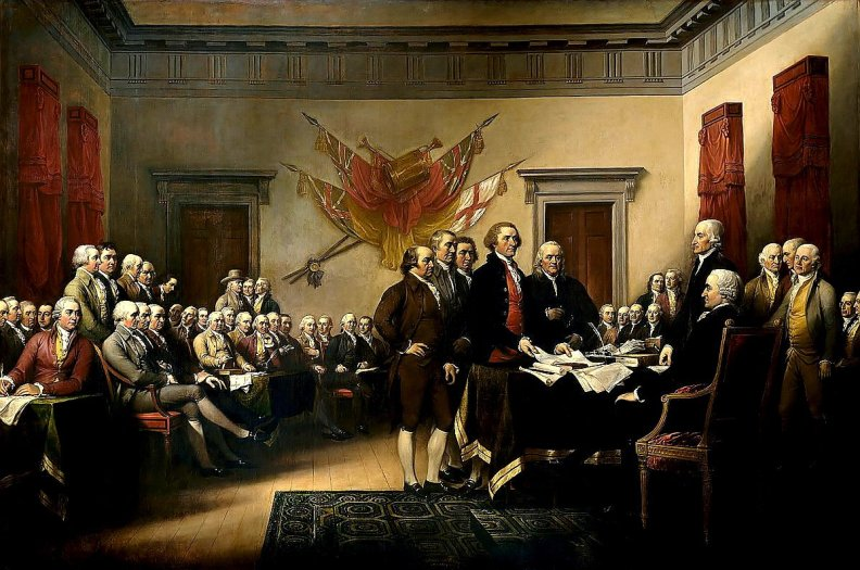 Congress Signing the Declaration of Independence
