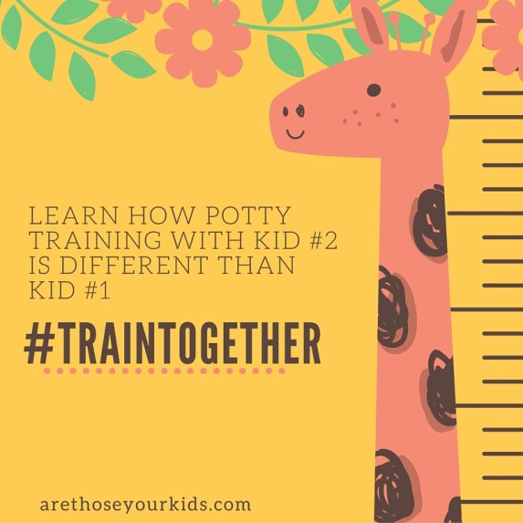 Train Together: Potty Training The Second Time Around