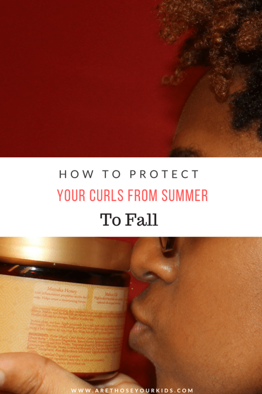 The sun & extended periods of time in water can be brutal on curls. Check out this list for ways your can protect your curls from summer to fall.