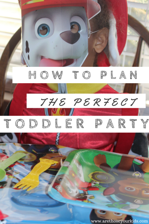 How to Plan the Perfect Toddler Birthday Party Without Tears