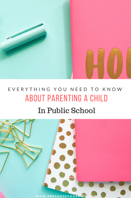 Some parents have fears about sending their children to public school. By doing your research and staying involved, your children can be successful!