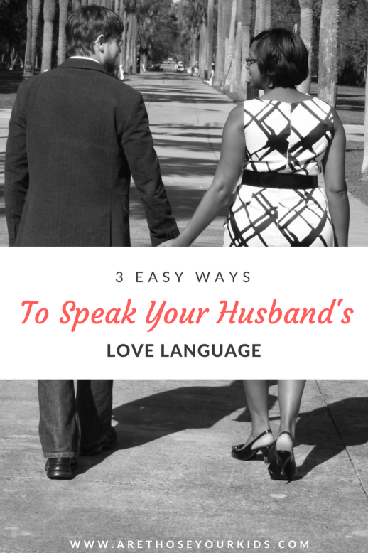 Having a successful marriage takes work. Knowing your husband's love language and giving him what he needs will in turn give you what you need.