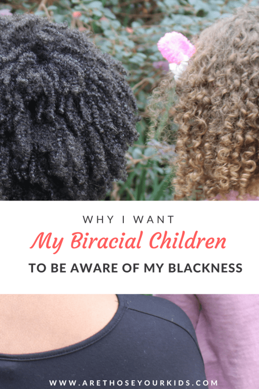 """As a black mom raising biracial kids, I do not want them to be """"colorblind."""" I want them to be aware that their mother's blackness means something different than being biracial."""