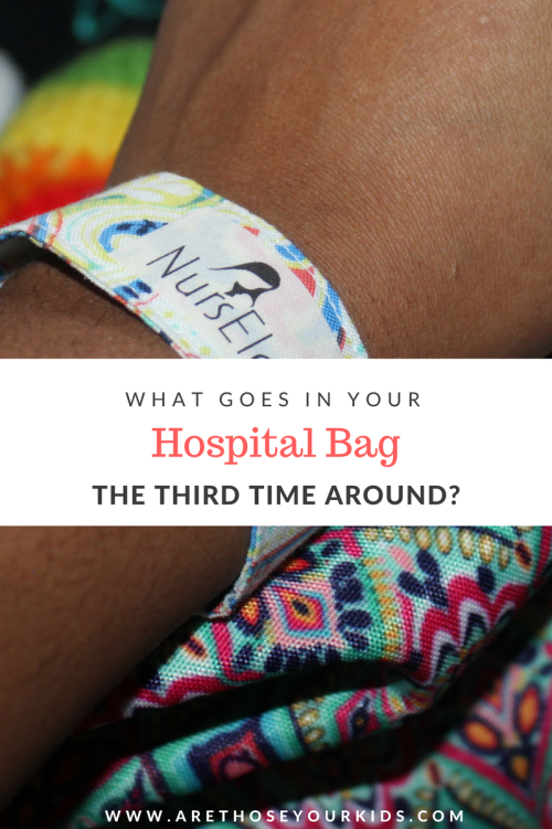 Packing a hospital bag the third time around seems like it would be an easy task after already doing twice with other children. There are a few essentials that you don't want to forget--I've got you covered!