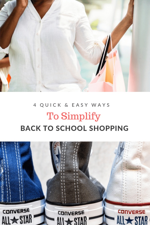 Back to school shopping can be stressful and expensive, especially when you have more than 1 child in school. Here are a few quick tips to make it easier!