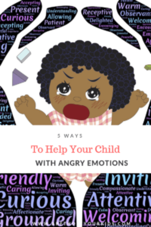 Dealing with your child's angry emotions can be frustrating--especially if you've tried everything and haven't been successful. Here are a few easy tips!