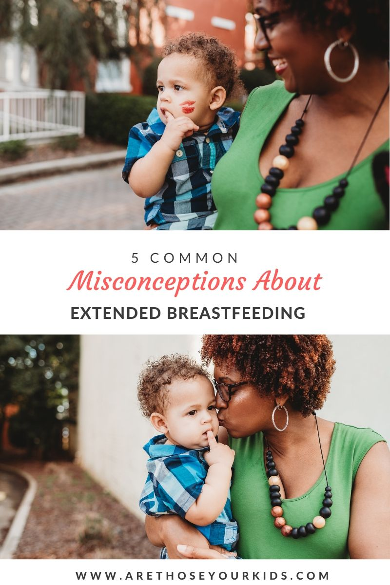 5 Common Misconceptions about Extended Breastfeeding