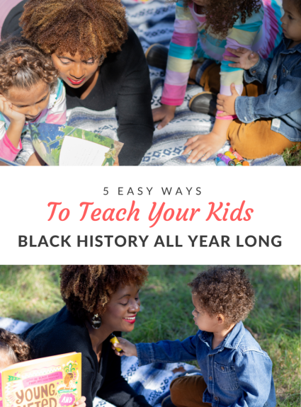 Black History is a great time to celebrate the achievements of those who have been overlooked. Here are a few easy ways to teach it at home.
