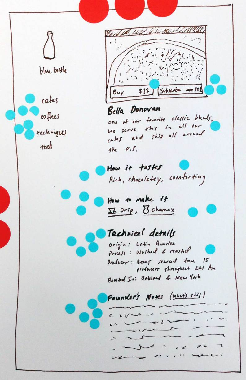 user interface copywriting example