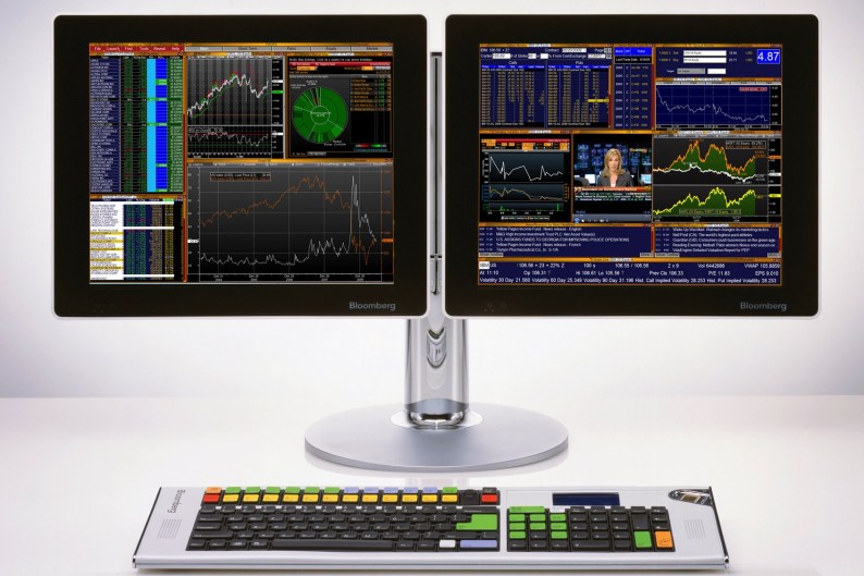 Bloomberg Financial Terminal UI
