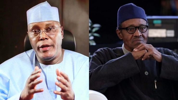 Image result for 'Atiku can't dare Buhari in presidential debate'